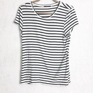 Tahari striped T-shirt size L